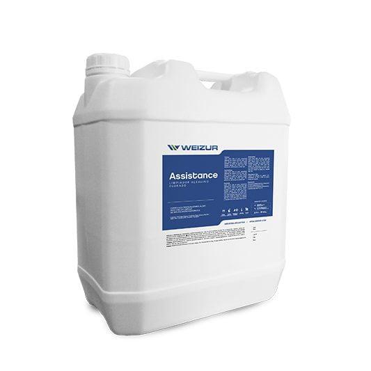 assistance limpiador alcalino clorado