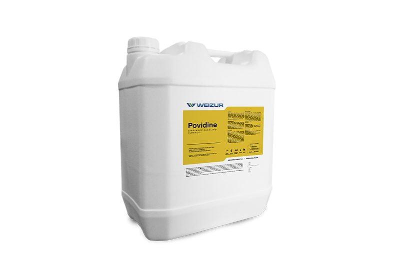 povidine-limpiador-líquido-espumígeno-superficiesesmaltadas-higieneindustrial-weizur