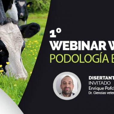 1º Webinar Podología bovina