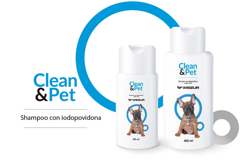 Clean & Pet – shampoo – galeria- mascotas- weizur