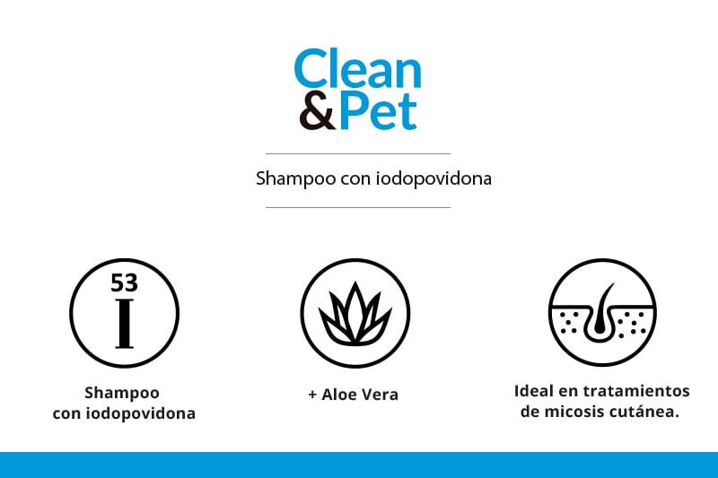 Clean & Pet – shampoo – propiedades – mascotas- weizur