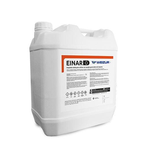 Inar-limpiador acido para equipos de espuma